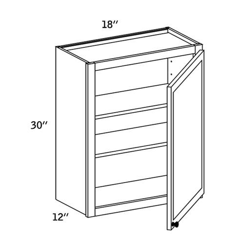 W1830 - Wall Single Door-WBG7000