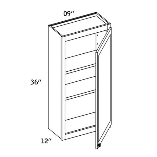 W0936 - Wall Single Door-WBG7000