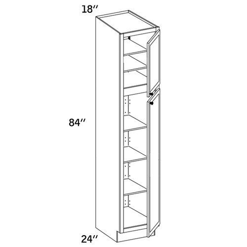 PC1884 - Pantry Cabinet - WLS6000