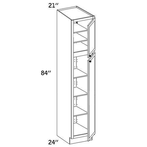 PC2184 - Pantry Cabinet - WLS6000