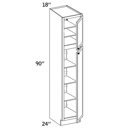 PC1890 - Pantry Cabinet - WLS6000