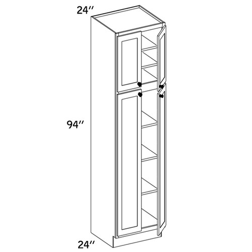 PC2494 - Pantry Cabinet - WLS6000