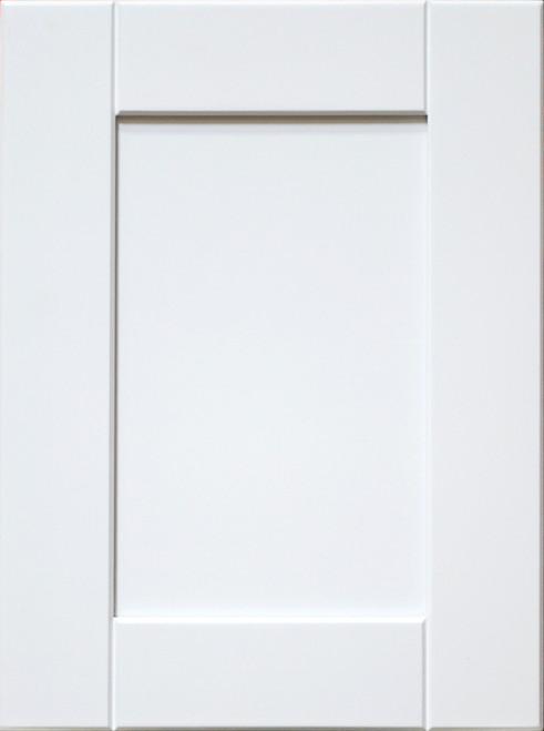 Door Sample - White Line Maple Shaker