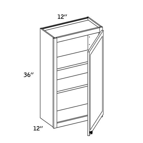 W1236 - Wall Single Door-CMS8000