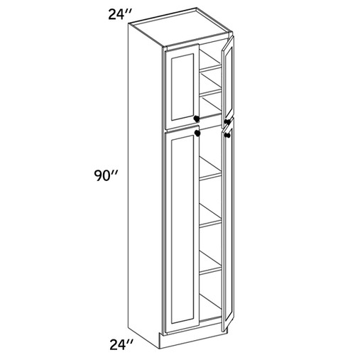 PC2490 - Pantry Cabinet - CMS8000