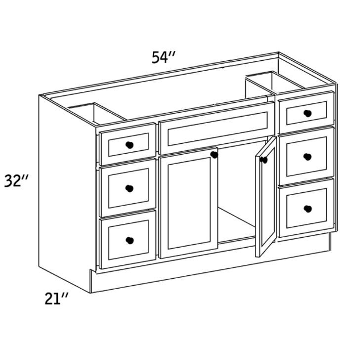 VSD542132 - Vanity Sink Base Drawer - CC9000