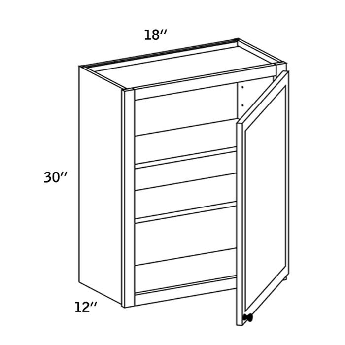 W1830 - Wall Single Door-CMS8000