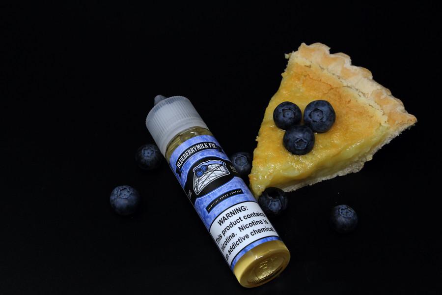 BlueberryMilk Pie