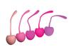 Shibari Voodoo Cherry Kegel Pleasure Balls - Set Of 5