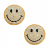 Nipztix Smile On Gold Chain Crystal Reusable Pasties