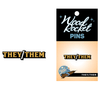 They/Them pronoun lapel pin - Gender Expression Products