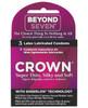 Beyond 7 Crown Condoms - 3 Pack