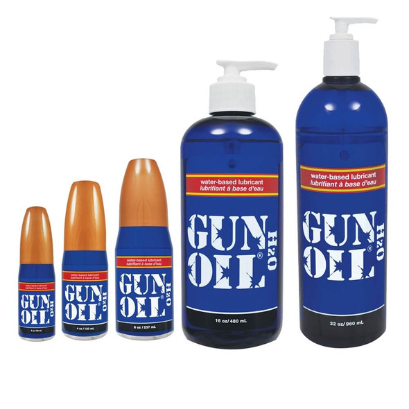 Gun Oil H20 Lubricating Gel - Waterbased Lube Formula
