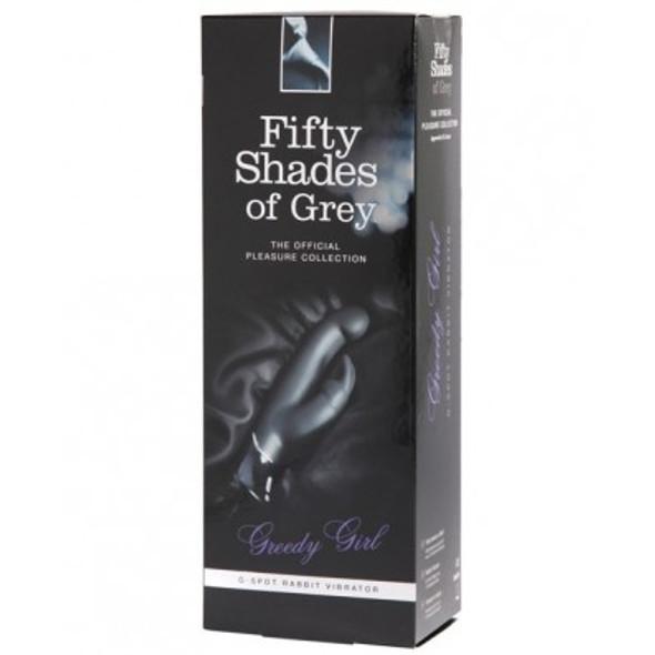 "Fifty Shades Of Grey ""Greedy Girl"" G-Spot Rabbit Vibe"