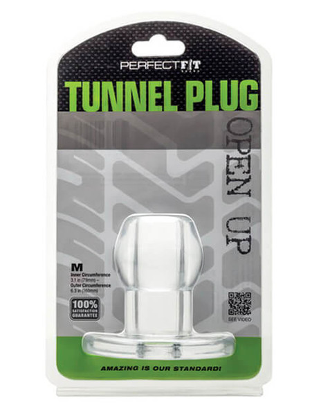 Medium Sized Perfect Fit Hollow Tunnel Plug