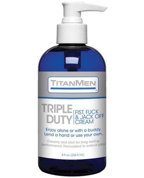 TitanMen Triple Duty Fist, Fuck & Jack-Off Cream