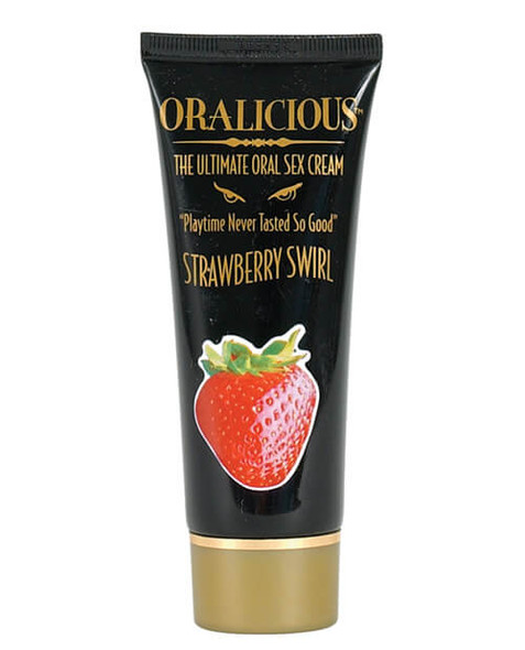 Oralicious - Strawberry Oral sex Gel