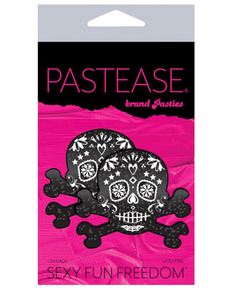 Pastease Adhesive Nipple Pasties: Day of the Dead