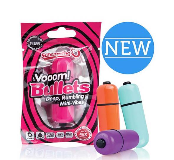 Screaming O Vooom! Bullet Vibes - Petite and Power Packed!