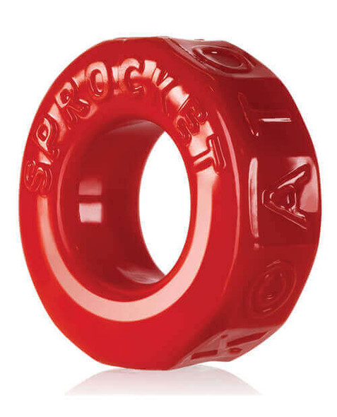 Red Oxballs Sprocket Cockring
