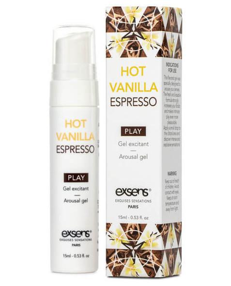 EXSENS of Paris Arousal Gel - Hot Vanilla Espresso
