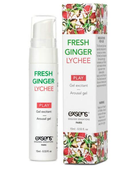 EXSENS of Paris Arousal Gel - Fresh Ginger Lychee