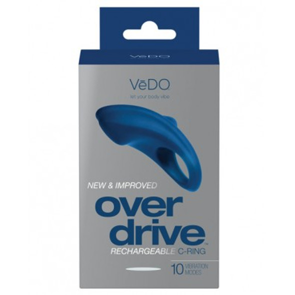 VeDo Toys: Overdrive Vibrating Couple's Ring - Blue