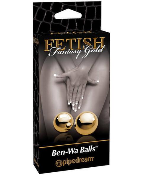 Metallic Weighted Ben-Wa Balls