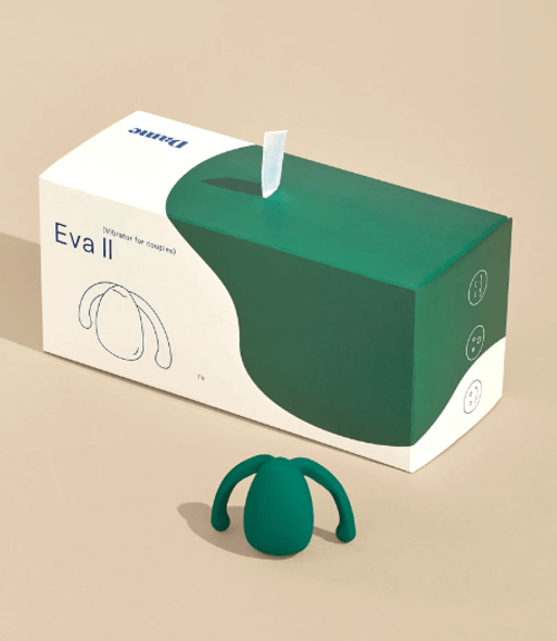 Dame Toys - Eva II Hands Free Stimulator - Fir Green