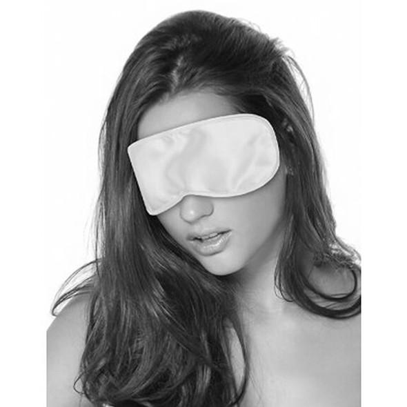 White Satin Fantasy Blindfold