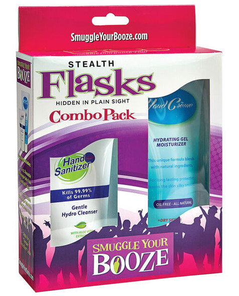 Smuggle Your Own Booze Kit - Hand Cream/Sanitizer Combo
