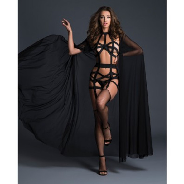Black Sheer Cape
