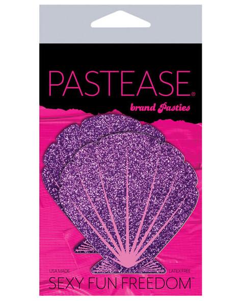 Purple Shell Mermaid Pasties - Purple