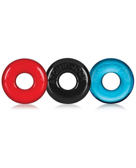 Oxballs Ringer Donuts - 3 Pack - Red, Black, Blue