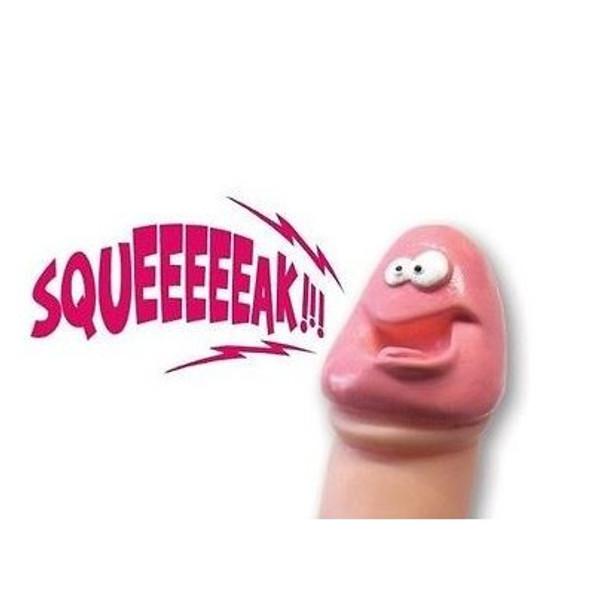 Squeezable Squeaky Pecker