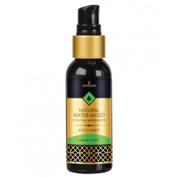 Sensuva Water-Based Flavored Personal Moisturizer - Apple Candy