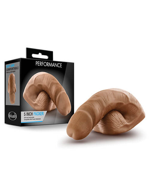 Blush Performance Packer - 5 Inches - Brown