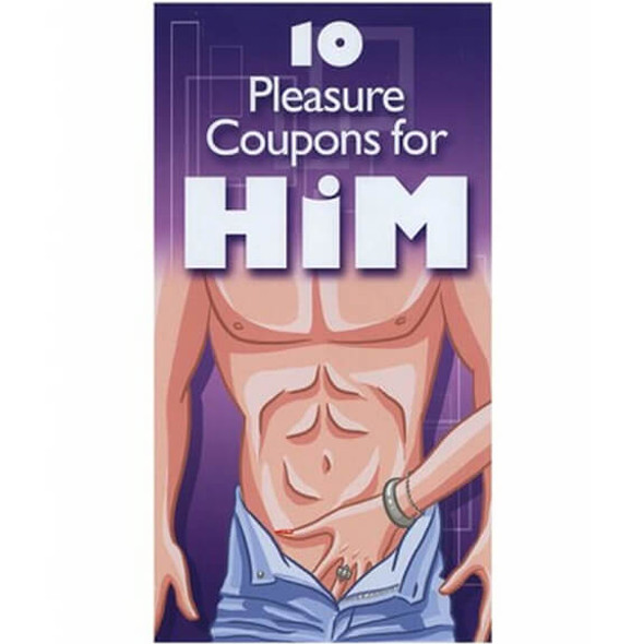Pleasure Coupons for Him