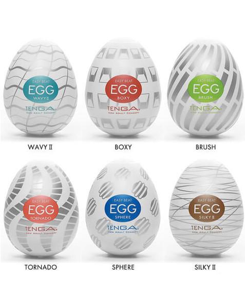 Tenga Egg Variety 6 Pack -Standard Package