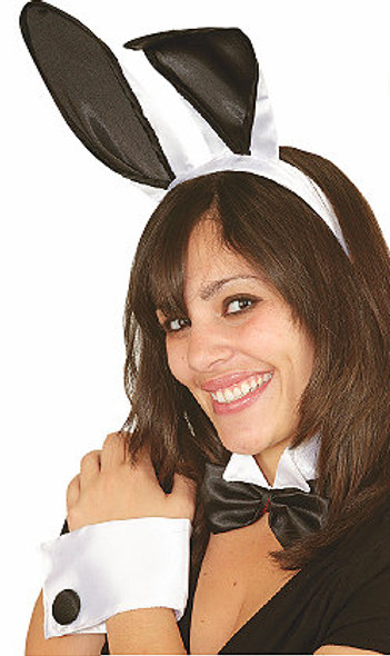 Sexy Bunny Accessory Kit - Black and White