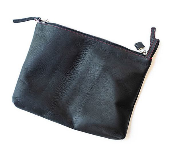 Sultra Leather Bag - perfect for concealing sex toys or 420 gear