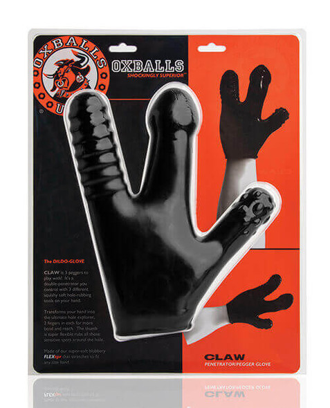Turn your fingers into sex toys with our Oxballs Claw Glove