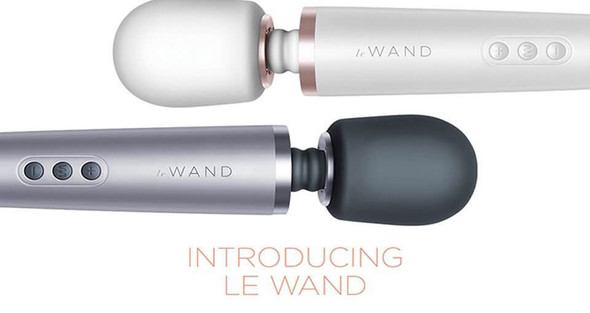 Feel the POWER with our Le Wand Rechargeable Massagers