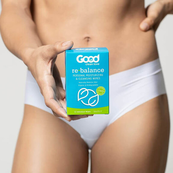 Good Clean Love Rebalance pH-Balanced Feminine Wipes
