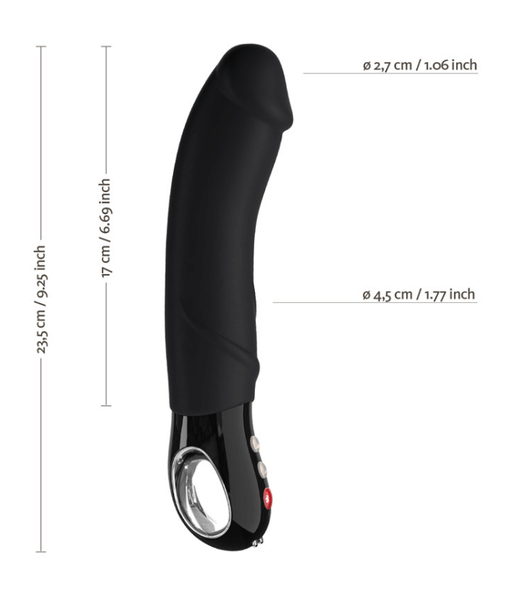Our Fun Factory Black Line Big Boss has a thick G-Spot Tip