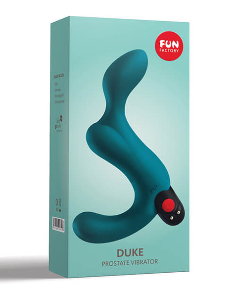 Fun Factory Duke Prostate Massager - Deep Sea Blue