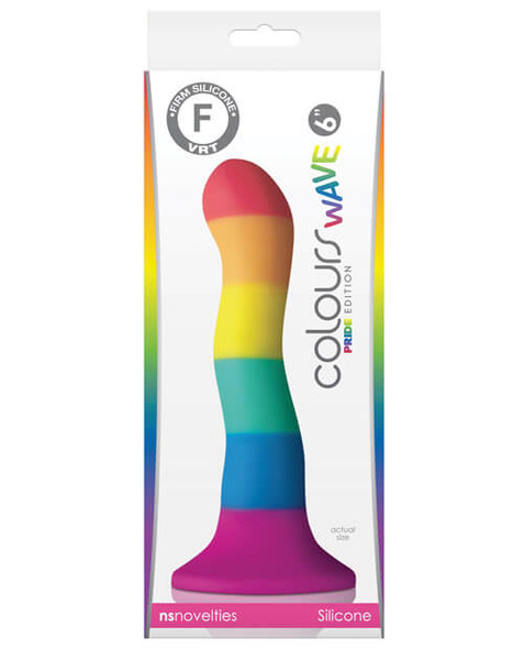 "NS Novelties Colours Pride Edition 6"" Dildo"