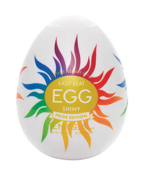 Proceeds from the Tenga Egg - Shiny Pride Edition supports LGTB + Organizations