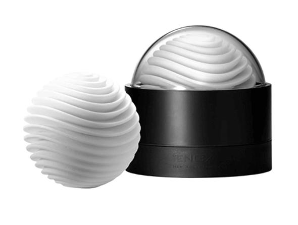 Tenga GEO Aqua Cup Stroker Sleeve - White