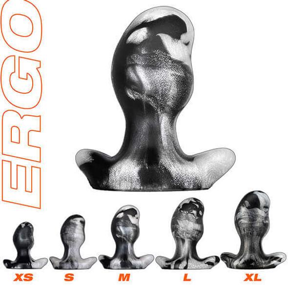 Oxballs Ergo Platinum Swirl Plugs